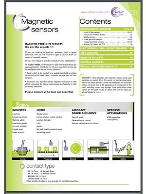 Celduc Magnetic Sensors