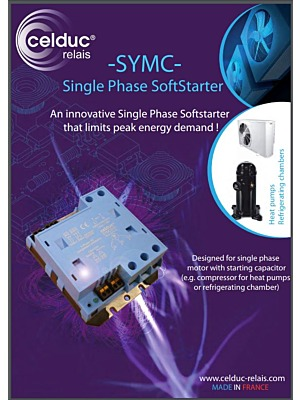 Celduc SYMC Single Phase Soft Starter