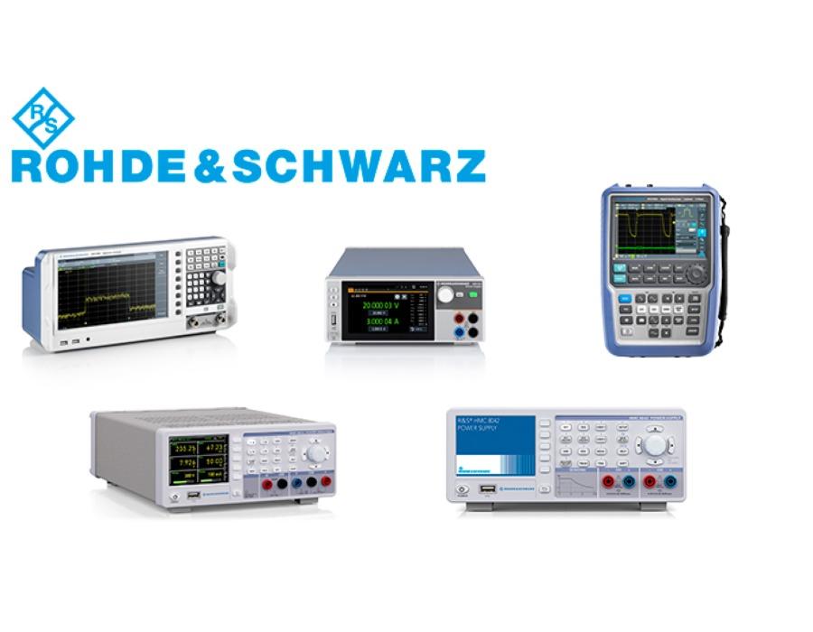 Rohde & Schwarz testaus- ja mittauslaitteet