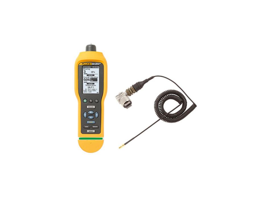 Fluke 805 / 805FC värähtelymittari + 805ES värähtelyanturi