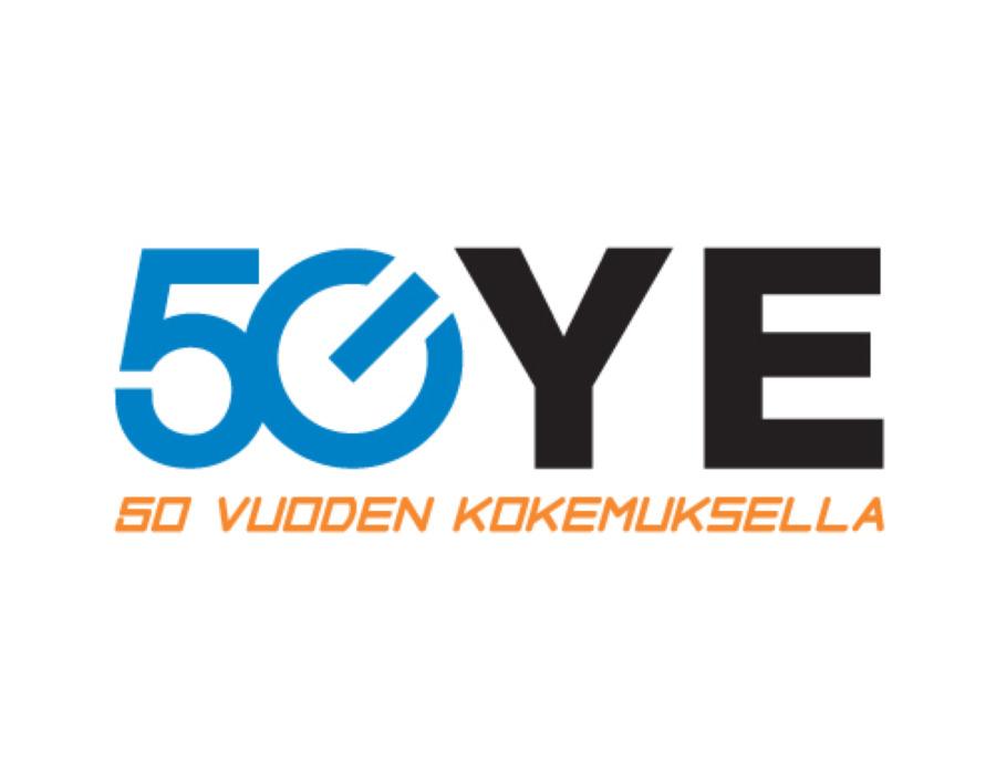 ye50-vuotta teollisuustuotteet logo
